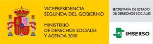 Logo Vicepresidencia de Derechos Sociales y Agenda 2030