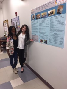Spring 2016 Psychology Research Poster Presentation on ILEARN Connecting Generations and Communities