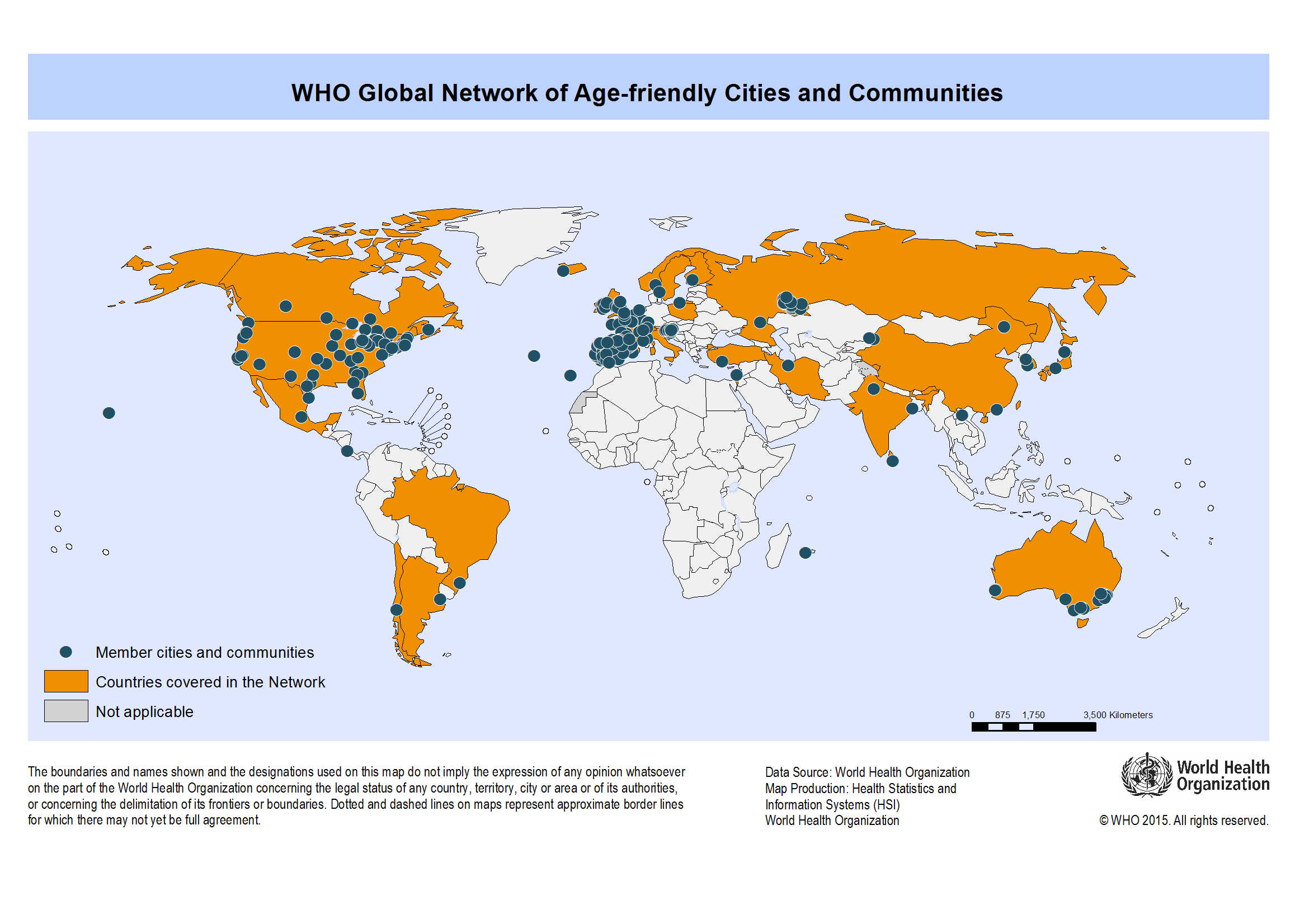 About the Global Network for Agefriendly Cities and Communities
