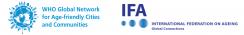 IFA WHO Logos