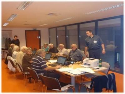 Computer literacy lessons for the elderly in the City of Ljubljana