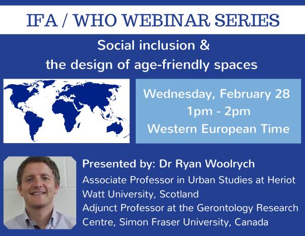 WHO/IFA Webinar Series: 28 February