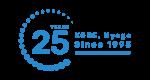 WHO Kobe Centre 25th Anniversary Logo