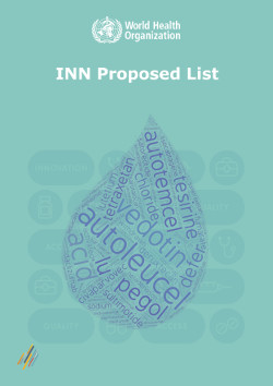 INN Proposed List Icon